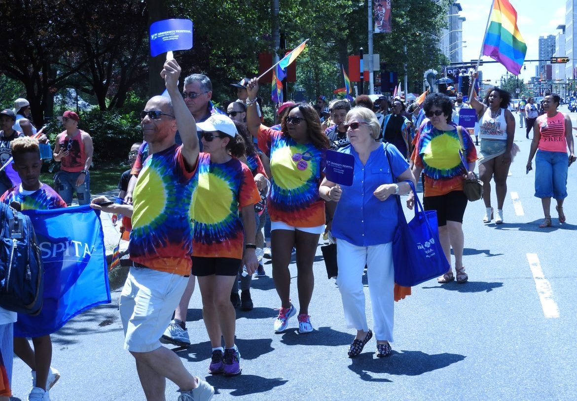 Newark Pride Parade 2017 - 2